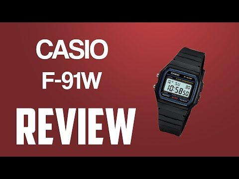 Casio F-91W review