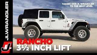 Jeep JL Wrangler 3.5 Inch Rancho Suspension Lift Installation