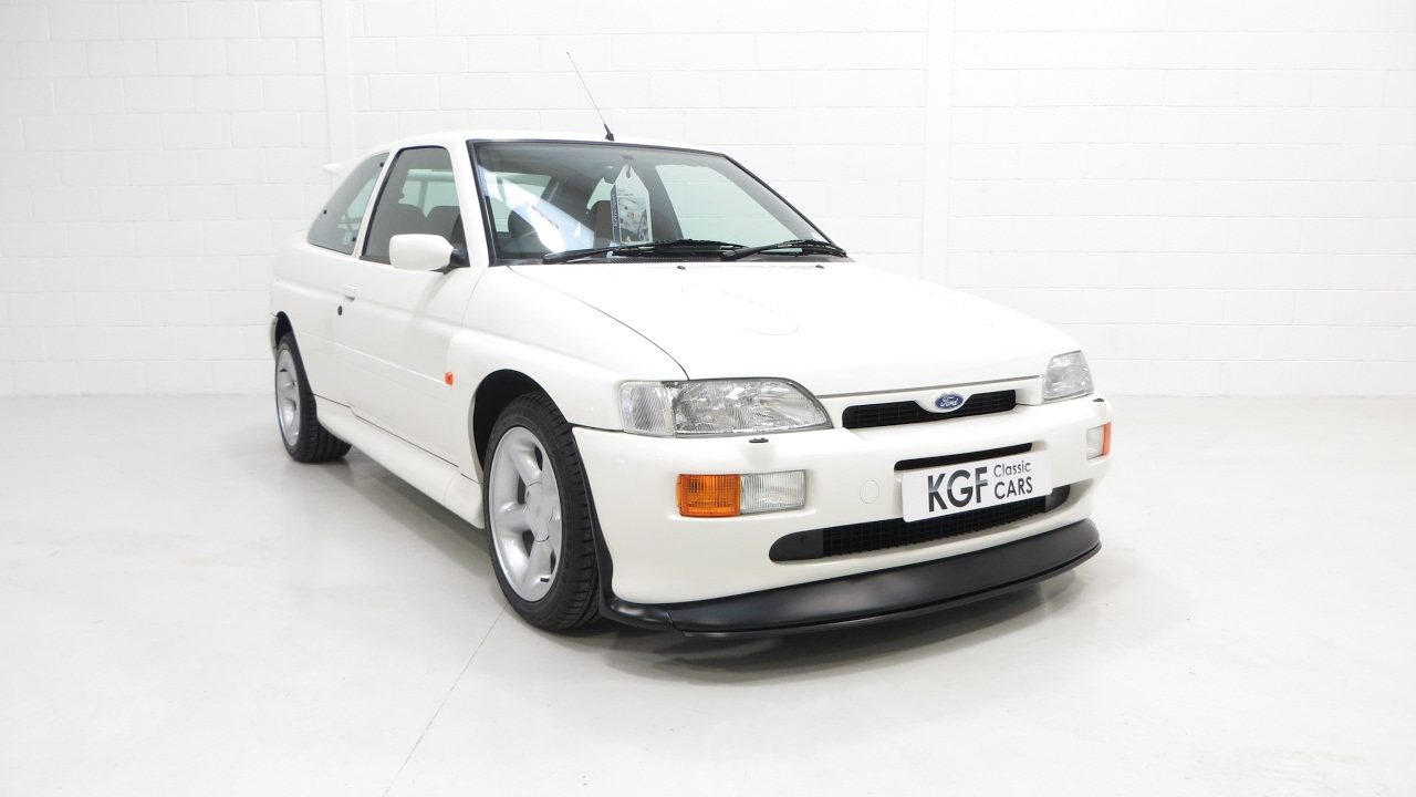 81f8b32e7f An Exceptional and Standard Ford Escort RS Cosworth with Just 15