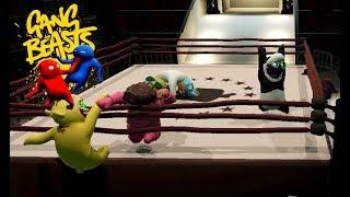 GANG BEASTS ONLINE - Royal Rumble!!!