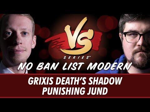 04/19/2018 - Todd Stevens VS. Brad Nelson: Death's Shadow vs Punishing Jund  [No Ban List Modern]