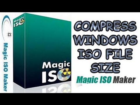 how to create iso file using magiciso