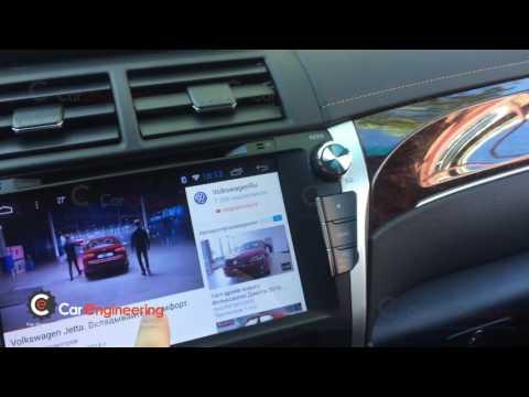 Штатная магнитола Android Toyota Camry (Тойота Камри)