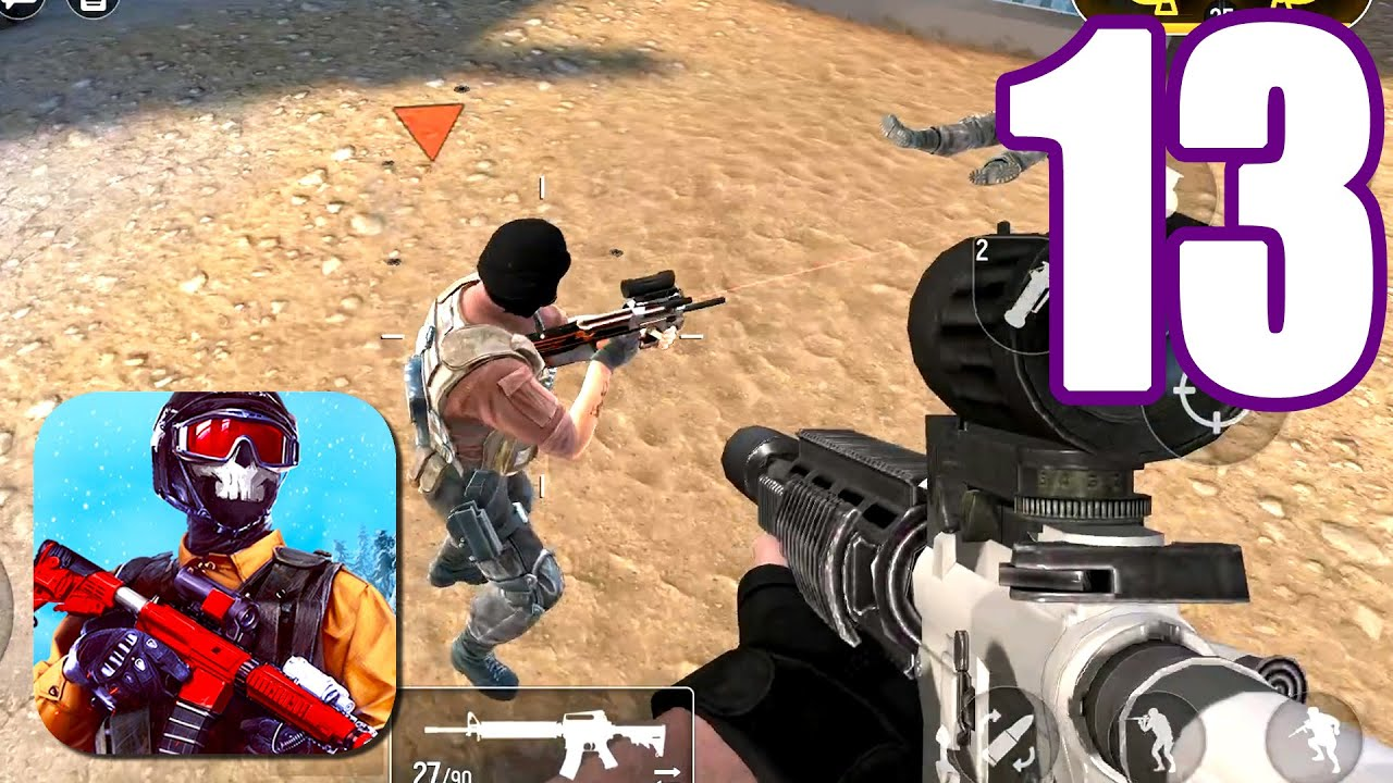 Modern OPS Walkthrough Gameplay Free For All Mode (iOs, Android) Part 13 | Power of Gameplay