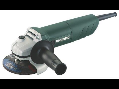 РоботунОбзор: Болгарка Metabo W 720-125