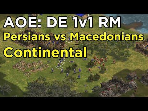 Age of Empires: Definitive Edition - eartahhj vs VeritasMorte - Persians Continental - 07/05/2020  