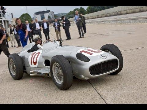 75 Jahre Silberpfeile - Jubiläum von Mercedes und Auto Union