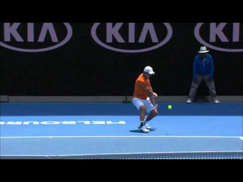 Philipp Kohlschreiber v Kei Nishikori highlights (1R) | Australian Open 2016