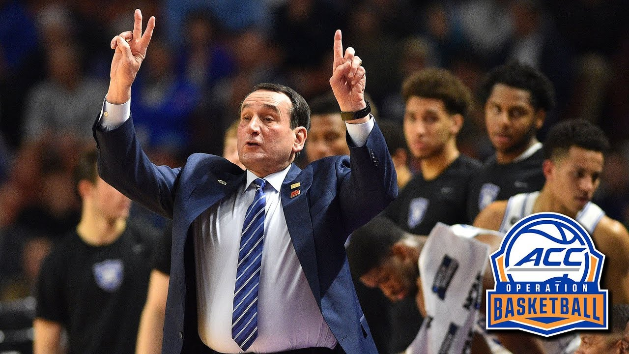 Coach K: Young Duke Team Eager To Learn | ACC Operation ...