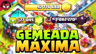 MAXEANDO TH13!! MI PRIMERA GRAN GEMEADA DE CLASH OF CLANS