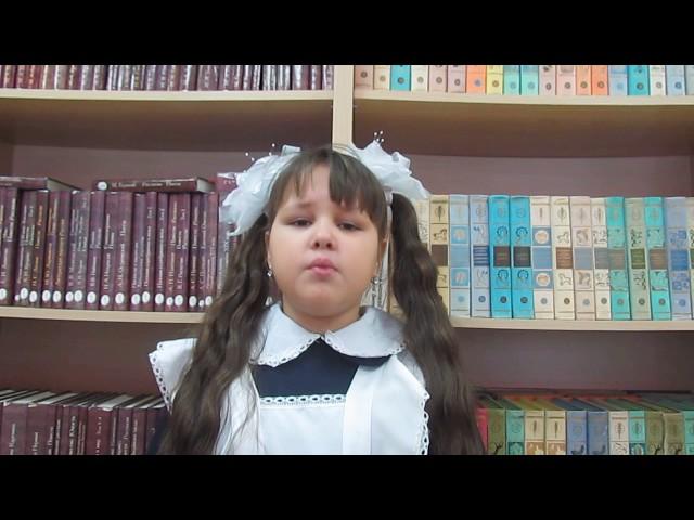 Изображение предпросмотра прочтения – АринаДружинина читает произведение «Стрекоза и Муравей» И.А.Крылова