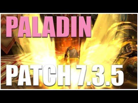 NEW PATCH 7.3.5 LIVE GAMEPLAY - Holy Paladin PoV
