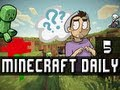 Minecraft Daily | Ep.5 Ft Lucie | Tales from a Cave!