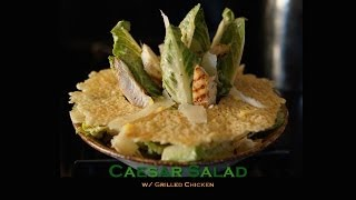 Caesar Salad W/ Grilled Chicken - Bruno Albouze - The Real Deal