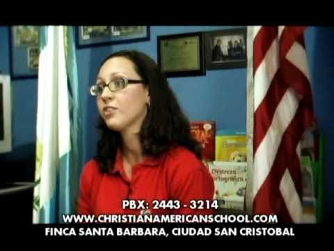 Documentary Christian American School of Guatemala
