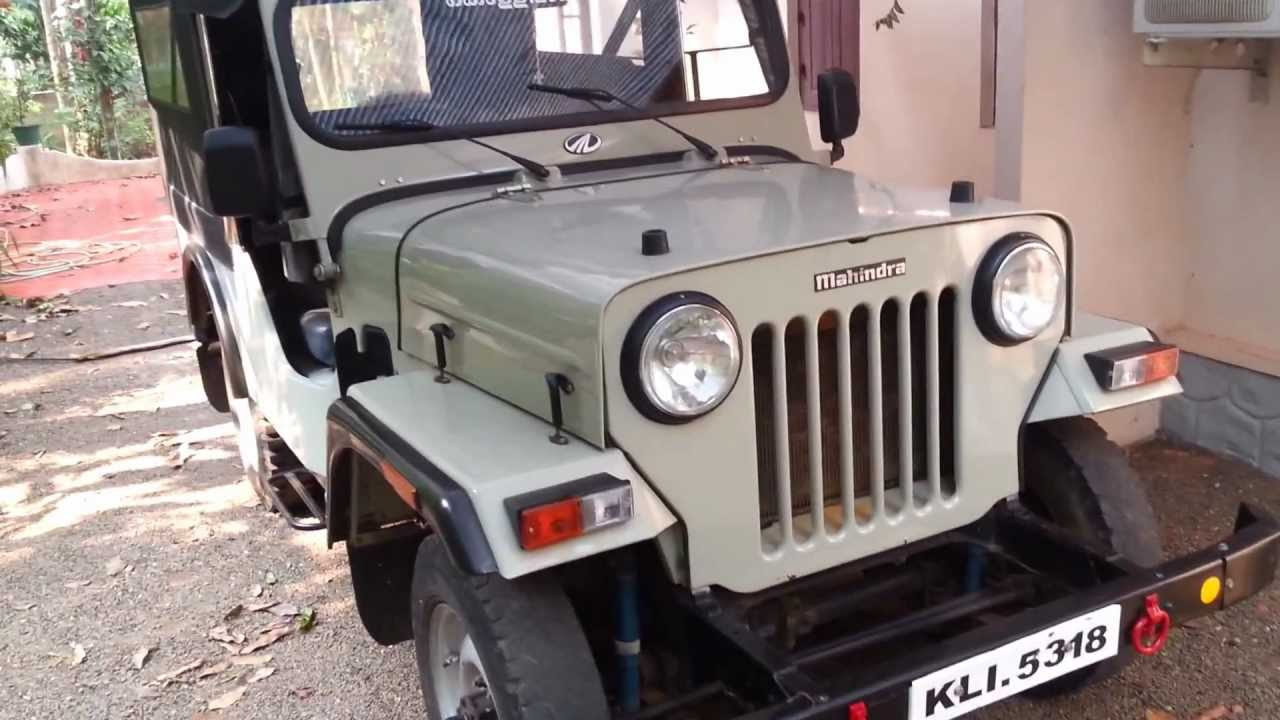 Mahindra Cj 500 Youtube