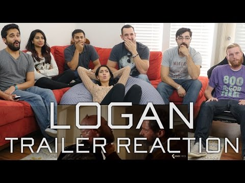 """Logan"" Trailer - Group Reaction"