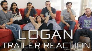 """Logan"" Trailer - Group Reaction"