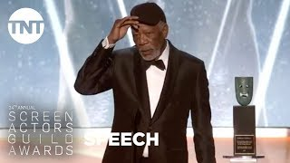 Morgan Freeman: Lifetime Achievement Award | 24th Annual SAG Awards | TNT