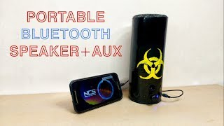 How to make Bluetooth Speaker with Recycled Parts !