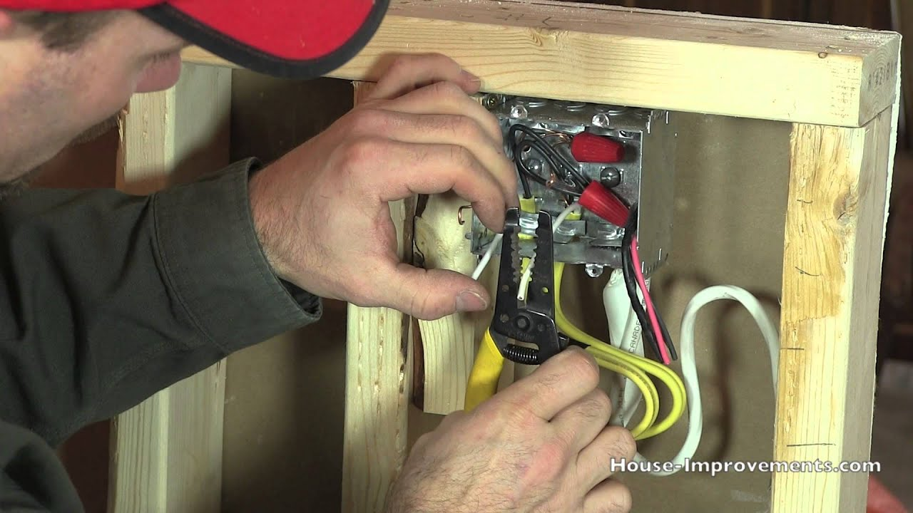 Bathroom Lights And Receptacles On Same Circuit how to wire multiple receptacles - youtube
