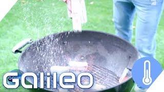 Grillen mit Kokosnuss? Vier Holzkohle-Alternativen zum Grillen | Galileo | ProSieben