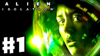 Alien: Isolation - Gameplay Walkthrough Part 1 - Ripley Intro with Facecam! (PC, PS4, Xbox One)