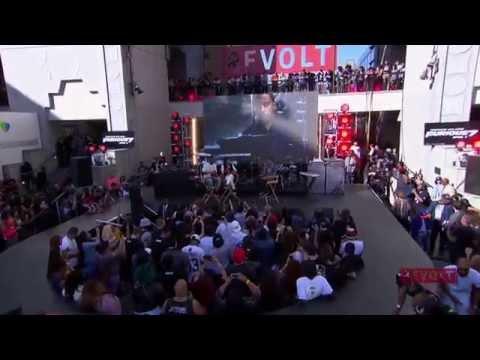 Furious 7 - Live Concert Part 2 (Full Cast and Ludacris)