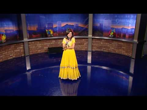 Belen De Leon sings, dances on Cinco de Mayo -- 9NEWS Sunday morning