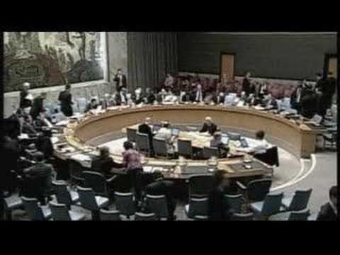 UN Irked By Bush Dismissal Of Israel Resolutions - 11 Jan 08