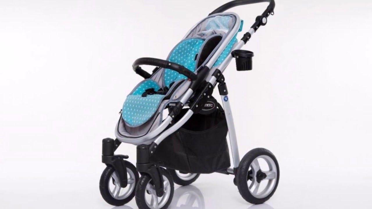Carritos De Bebé 3 Piezas Modelo Libero Protector De Lluvia Gratis