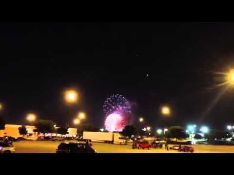 July 4th 2013 from Vista Ridge Mall, Lewisville