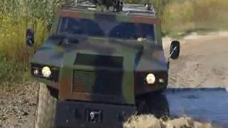 General Dynamics European Land Systems - Mowag Eagle IV Armoured Wheeled Vehicle [480p]