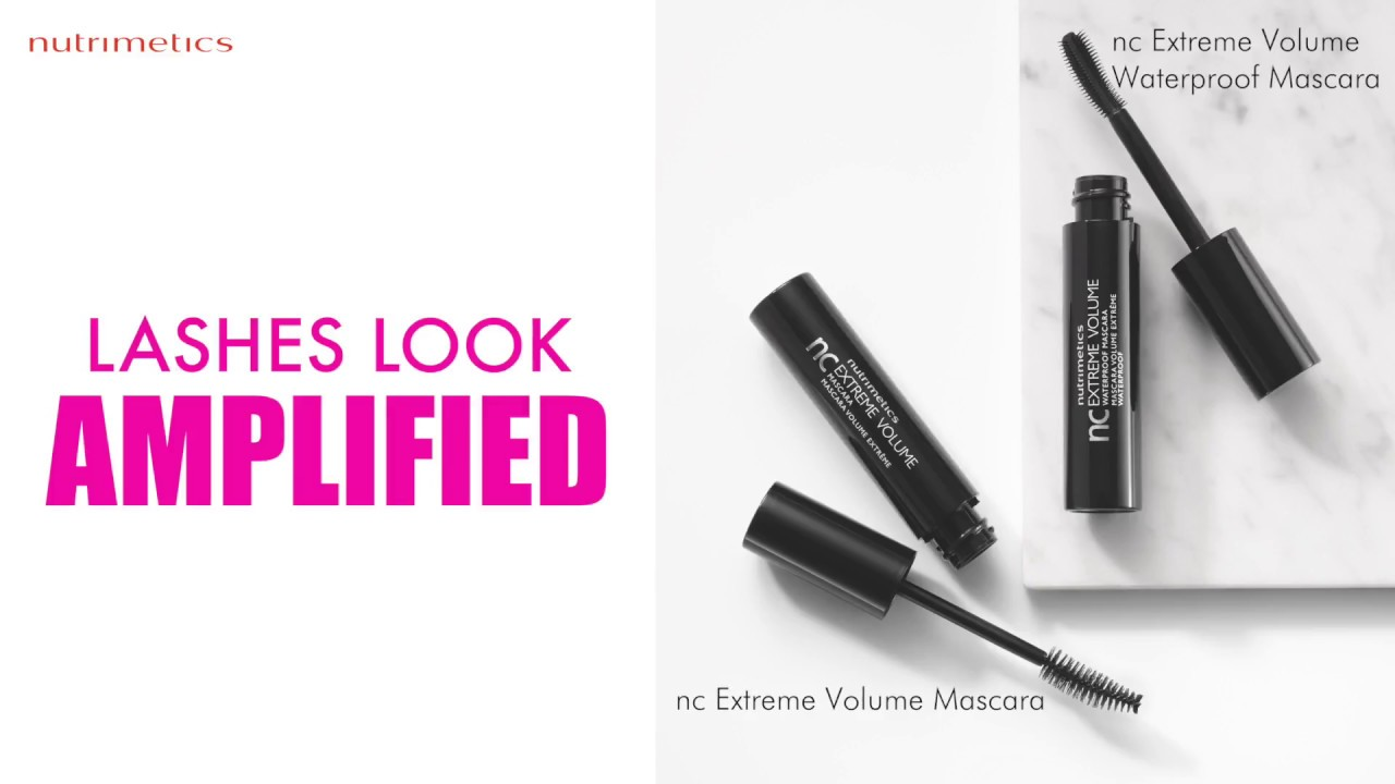 1f3cbb52b11 Lashes look AMPLIFIED with nc Extreme Volume Mascara - YouTube