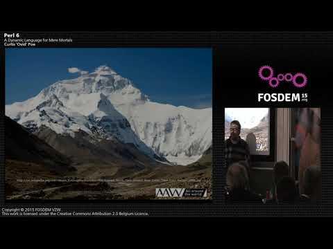 FOSDEM 2015 - Developer Room - Perl - Erl6 For Mortals.mp4