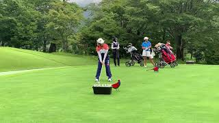 APGC Junior Championship Mitsubishi Corporation Cup 2019 Shuri Sakuma's golf swing