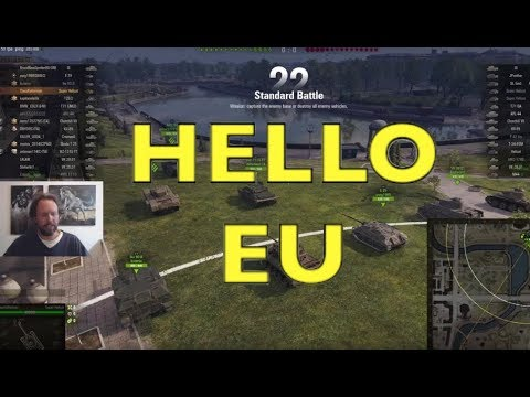 WOT - I Am On The EU Server! | World Of Tanks