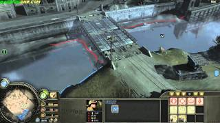 walkthrough [company of heroes][1080p][PC] - mission 8 - part 1 St. Fromond