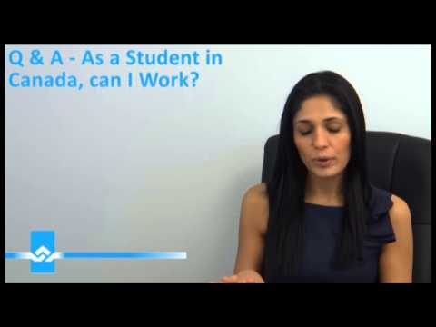 Work as a International Student