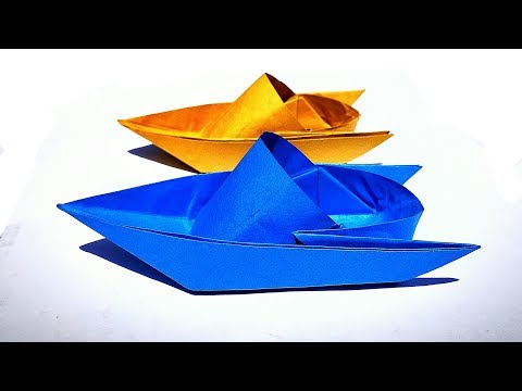 How to Make Paper Boat || Origami Boat || Easy - DIY