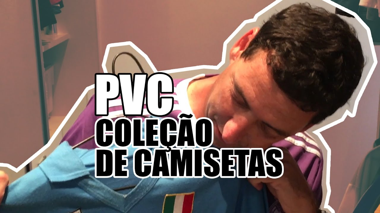c79c2a51a94 PVC MOSTRA SUA COLEÇÃO DE CAMISAS DE CLUBES