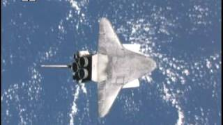 Space Shuttle Backflip at 4X speed