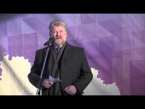 Праздничный митинг концерт, посвященный годовщине вхождения Крыма в состав России