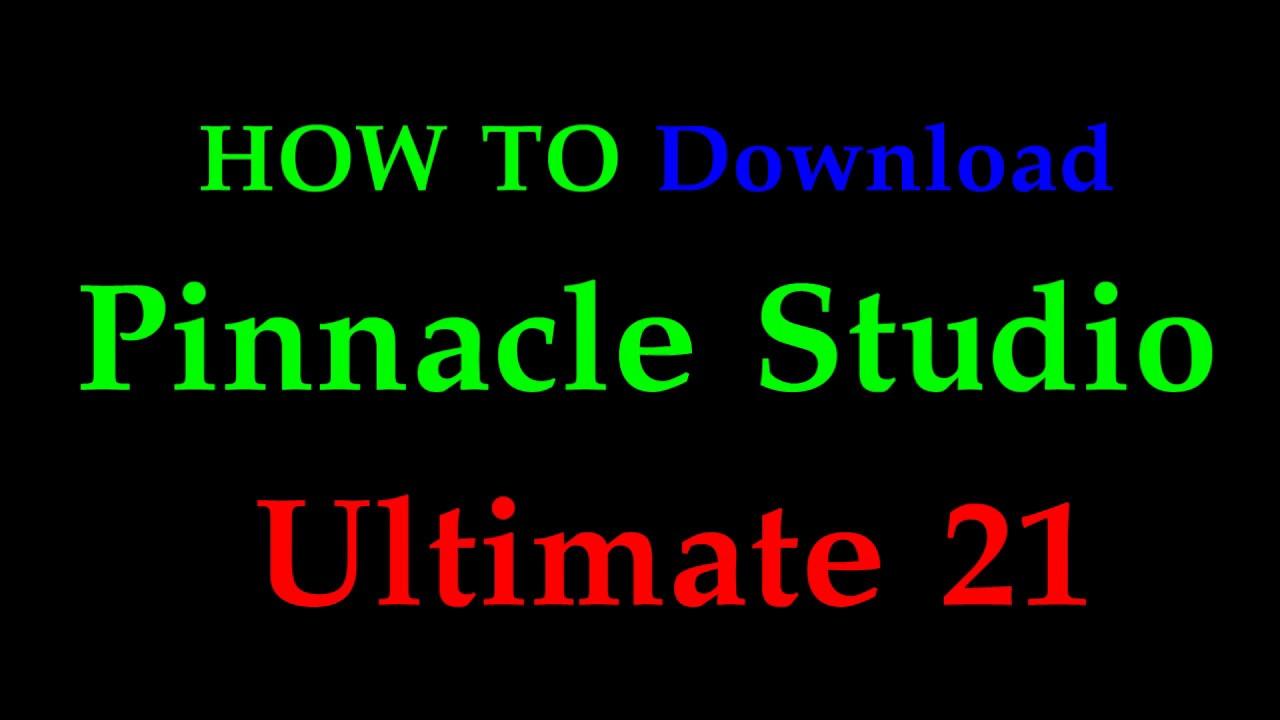 download pinnacle studio 12 gratis