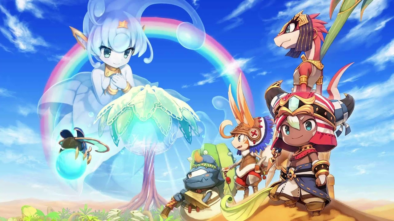 """『 ♪ Town """"A"""" 』Ever Oasis"""