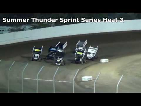 Grays Harbor Raceway, September 2, 2018, Summer Thunder Sprint Series Heat Races 1,2 and 3