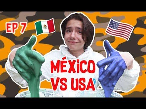 PRODUCTOS DE MÉXICO VS ESTADOS UNIDOS - ¿Con cuáles se hace mejor Slime? - SNIPER