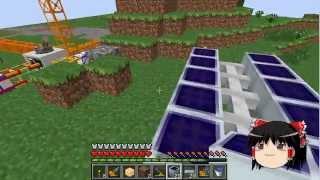 【Minecraft】科学の力使いまくってドラゴン倒す!Part08【ゆっくり実況】