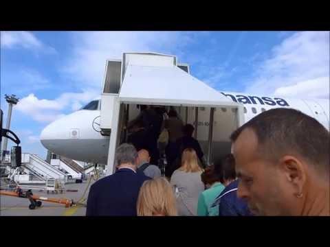 Lufthansa A321 FRA-RIX (June 2015)