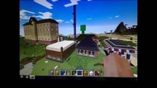 Photo compilation of places I built on Minecraft (Hip Hop background music)
